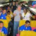 Com apoio do Grupo Florêncio Escolinha de Futebol Portuguesa viaja para disputar campeonato em São Paulo