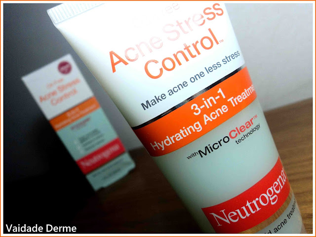 Acne Stress Control 3-in-1 da Neutrogena