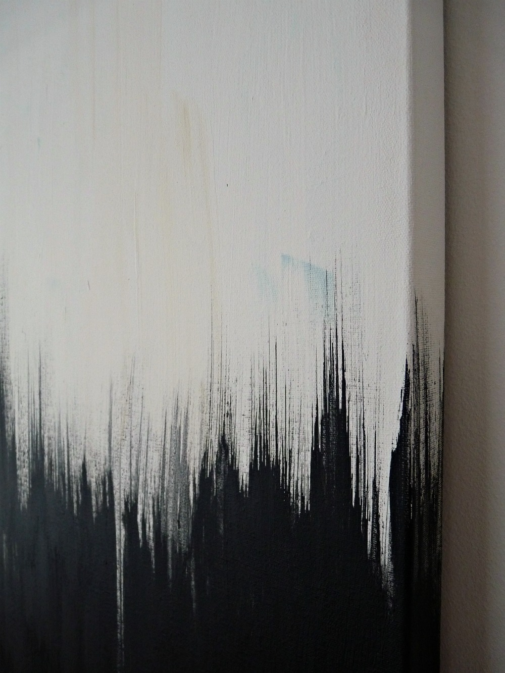 Exceptional Black And White Painting Ideas Part - 13: DIY Art ...