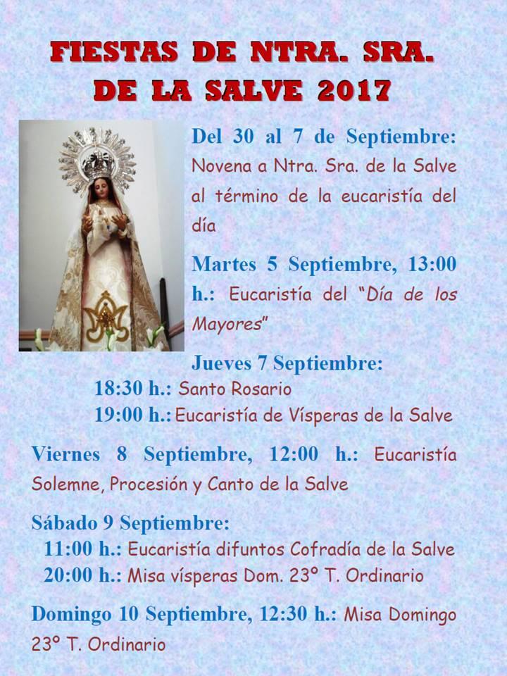 Fiestas de la Virgen de la Salve