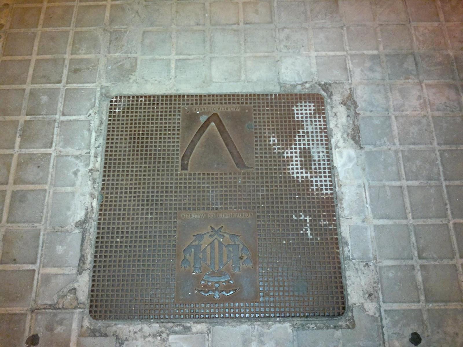 En medio de la calle, en Valencia