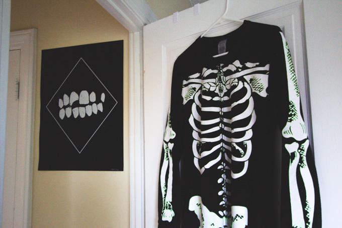skeleton pjs