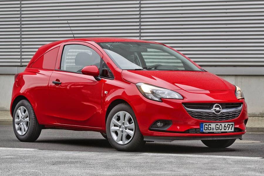 Opel Corsavan (2015) Front Side