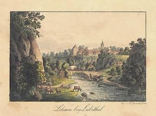 Christian Friedrich Sprinck: Lohmen, 1820