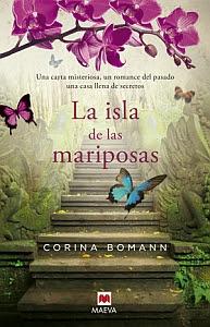 La isla de las mariposas - Portada