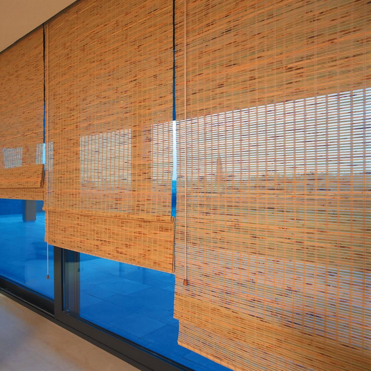 Henriflex persianas e cortinas em salvador 71 9912 9050 - Cortina de bambu ...