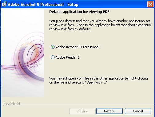 adobe acrobat 8 professional activation key