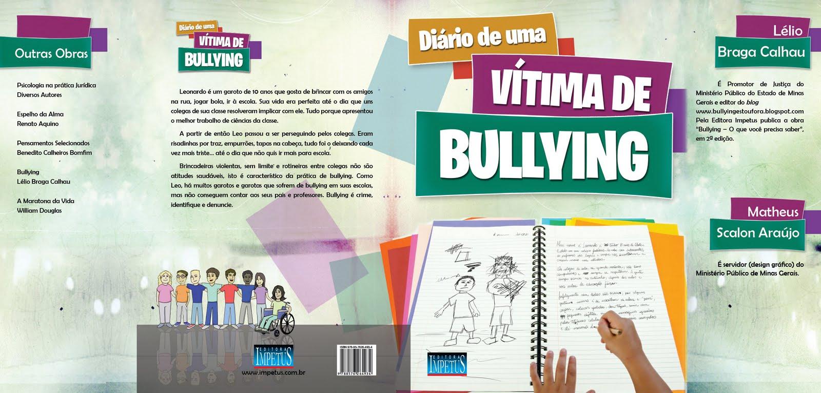 """Livro """"Diário de uma vítima de bullying"""""""