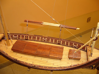 scale model ship of traditional boat ship laut Andraitx