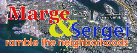 Marge & Sergei Ramble the Neighborhoods