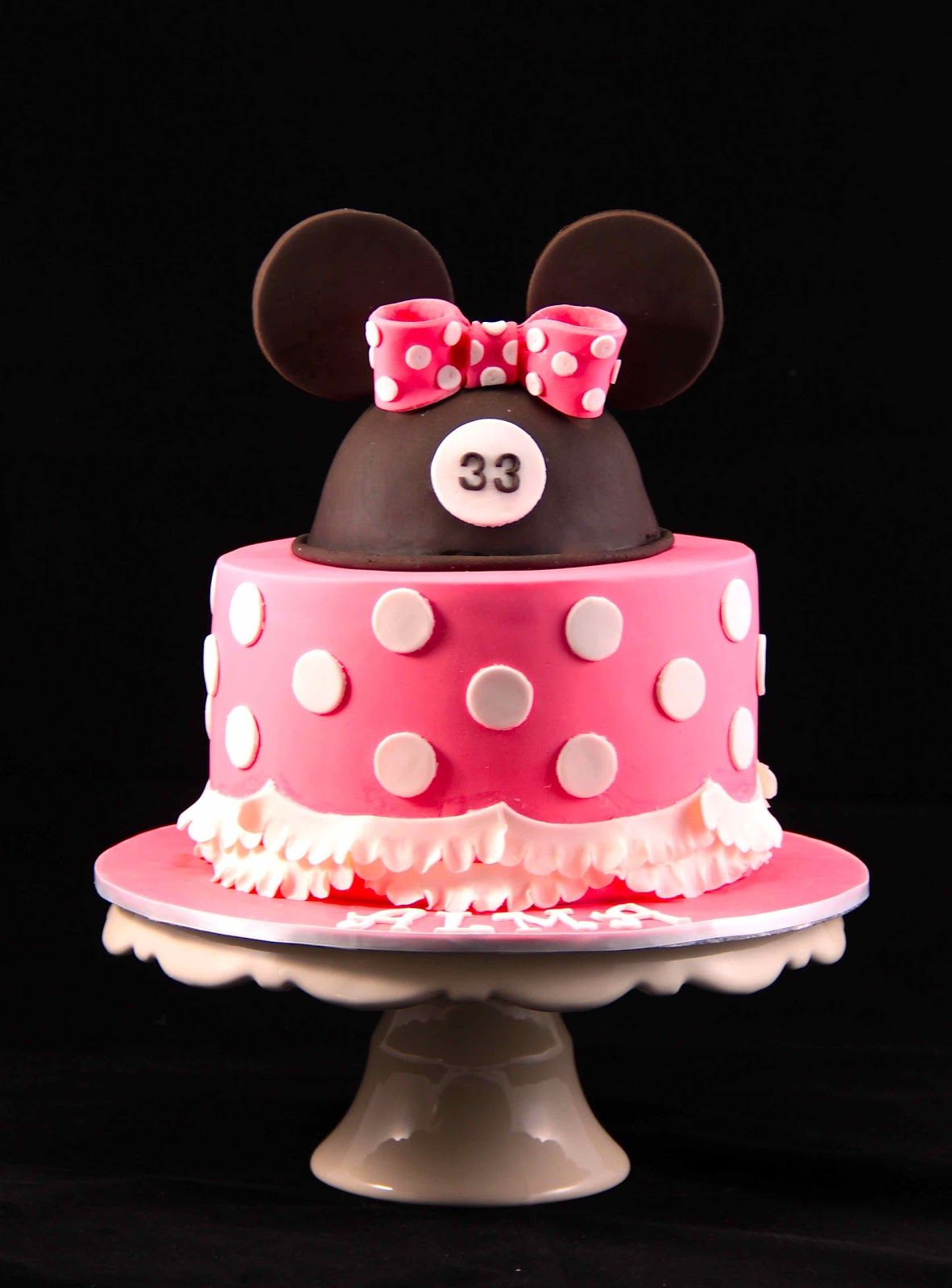 Bakerz Dad: Minnie Hat Cake