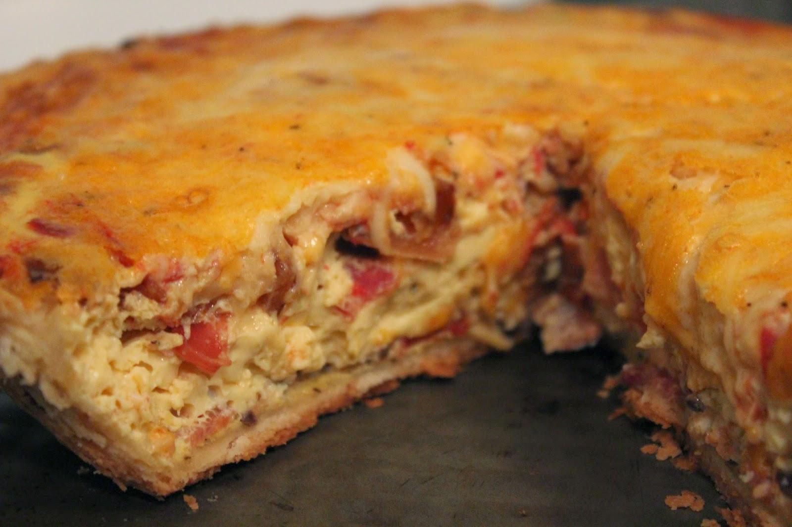 bacon veggie quiche, quiche, veggie quiche, bacon quiche, tasty tuesday, recipe, quiche recipe, veggie quiche recipe, bacon veggie quiche recipe,