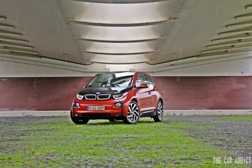 picture bmw i3 test drive