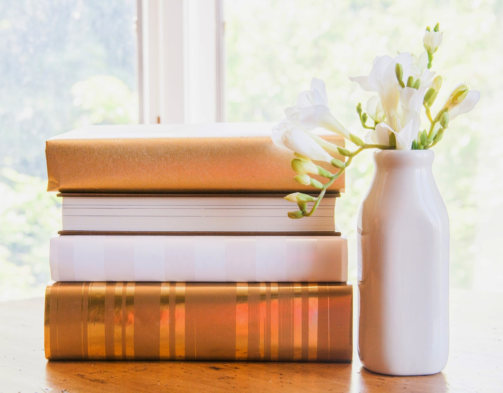 How to wrap your books, gold books
