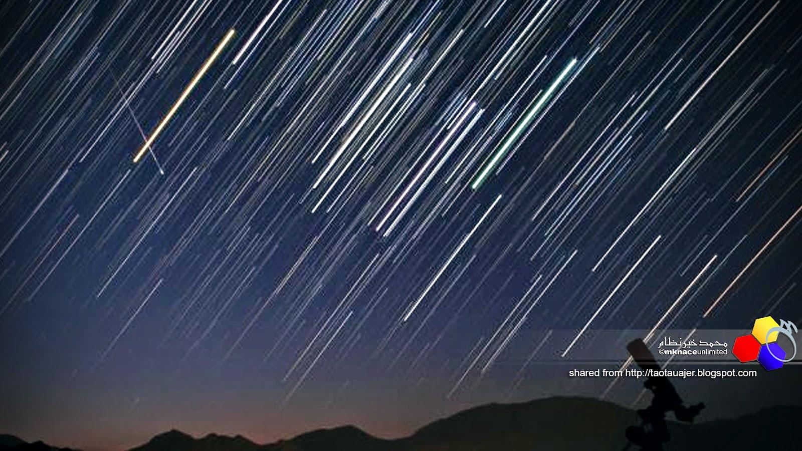 Hujan meteor boleh dilihat pada 23, 24 Mei ini