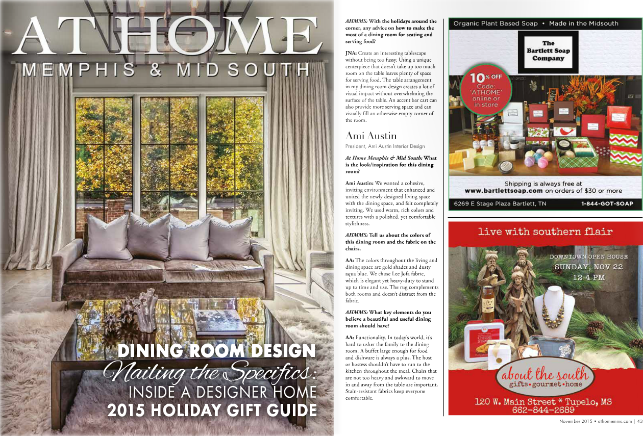 Be Sure To Take A Look At The November Issue See Full Feature Story And Learn More About Ami Austin Interior Design By Clicking Link Below
