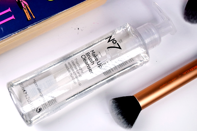 No7 Makeup Brush Cleanser Review