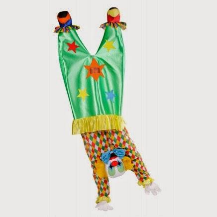Disfraz de Payaso al revés