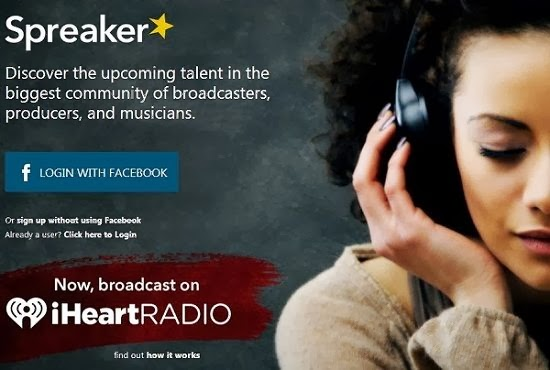 Speaker lets you Broadcast Live Radio online with