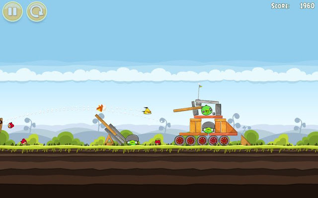 Angry Bird Screenshots 1