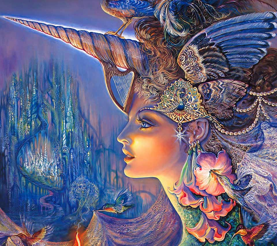 The Amazing View Of Fantasy Mystic Art.