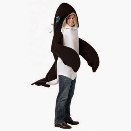 Disfraz de Ballena Orca