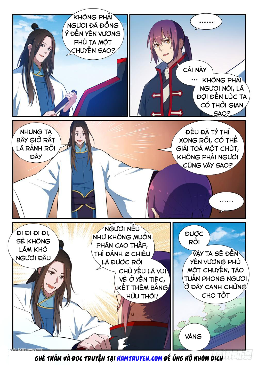 Bách Luyện Thành Thần Chapter 371 video - Hamtruyen.vn