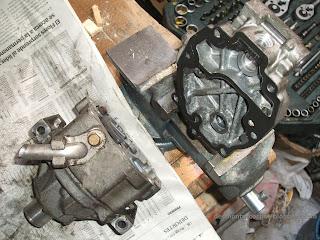 Desmontar Compresor aire acondicionado Toyota Corolla