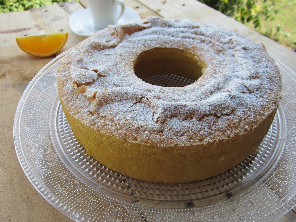 Una Pincelada En La Cocina Bizcocho Tradicional De Naranja Y Almendra ~ Bizcocho De Almendras Esponjoso