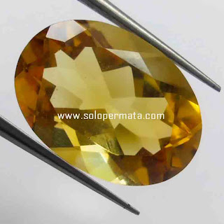 Batu Permata Natural Yellow Citrine | Batu Permata Murah | Garansi Natural | Citrine