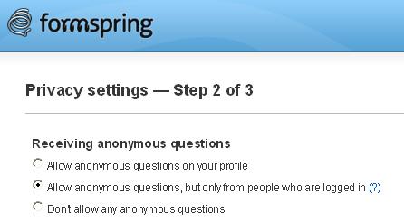 Formspring - Archiveteam
