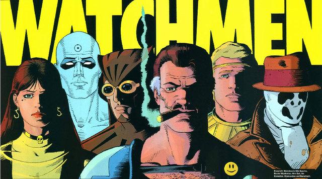 watchmen comic book pdf