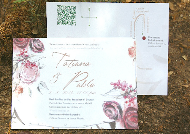 invitaciones boda acuarela stationery wedding blog watercolor