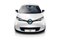 Renault ZOE 2012 front
