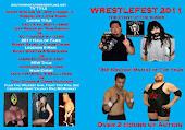 WrestleFest 2011 DVD $10