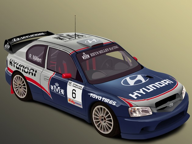 Hyundai Race Car
