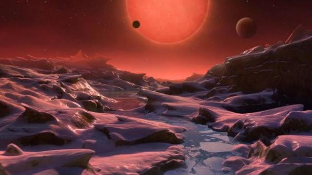 ناسا تكتشف سبع كواكب شبيهة بالأرض وتدور حول نجم واحد