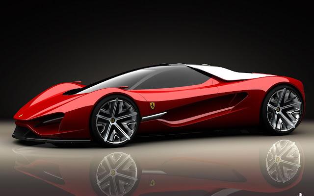 Red Ferrari Xezri