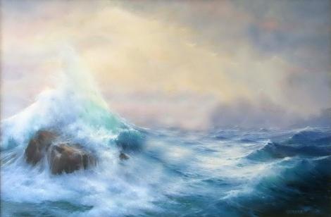 Lukisan Aliran Naturalisme Lukisan Karya B Ki Abdullah