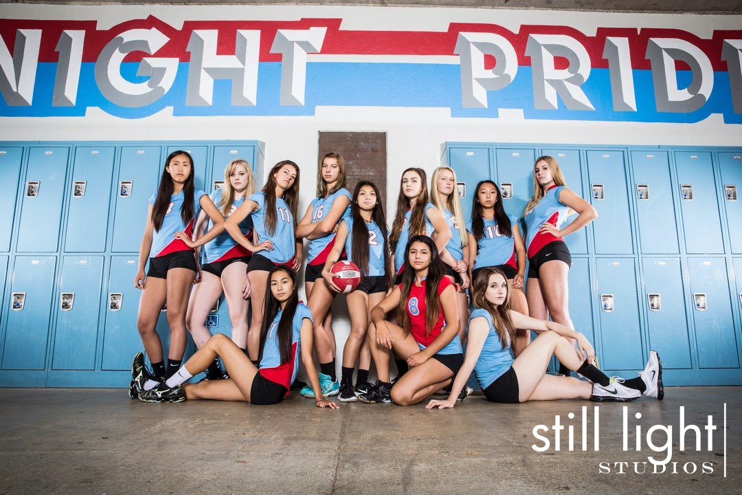 San Mateo Hillsdale High School Volleyball Team Photo by Still Light Studios, School Sports Photography and Senior Portraits in Bay Area, cinematic, nature