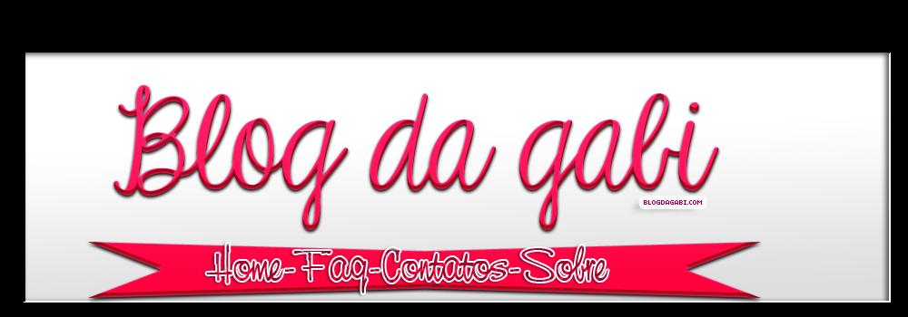 Blog da Gabi