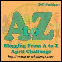 Join the A to Z Challenge!