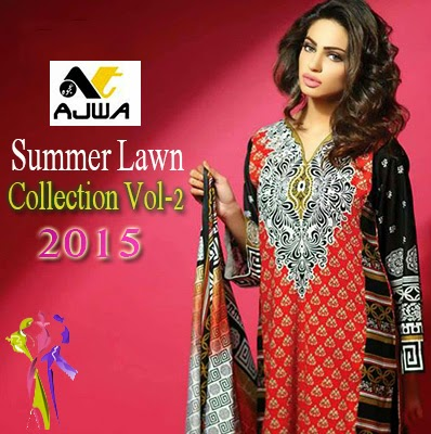 Latest Ajwa Summer Lawn Collection 2015 Vol-2