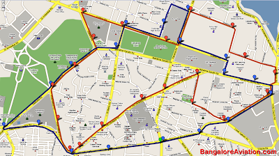 Bangalore central business district ho ho shuttle bus - Srilankan airlines bangalore office number ...