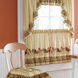Novedades paola cortinas para la cocina for Cortinas largas