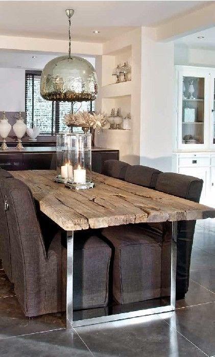 sweet living wn trza z pasj drewno i metal czyli najnowsze trendy we wn trzach. Black Bedroom Furniture Sets. Home Design Ideas
