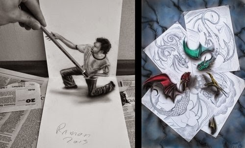 20-The-Little-Helper & The-Clash-Optical-Illusionism-Ramon-Bruin-www-designstack-co