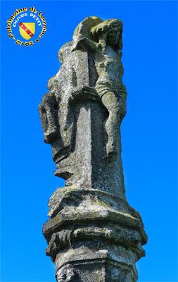 SAUVIGNY (55) - La croix-calvaire (XVIe)