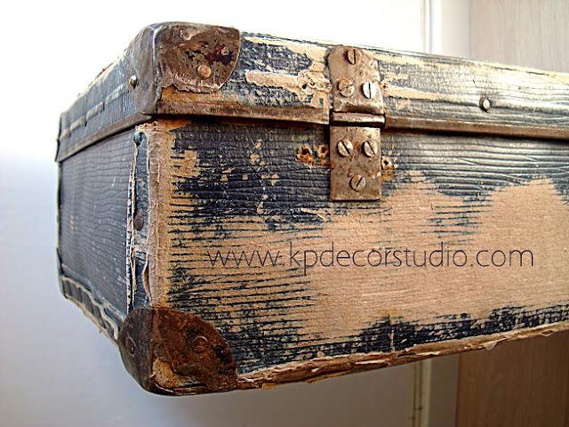 Maletas antiguas vintage originales y baratas. Decorar con maletas
