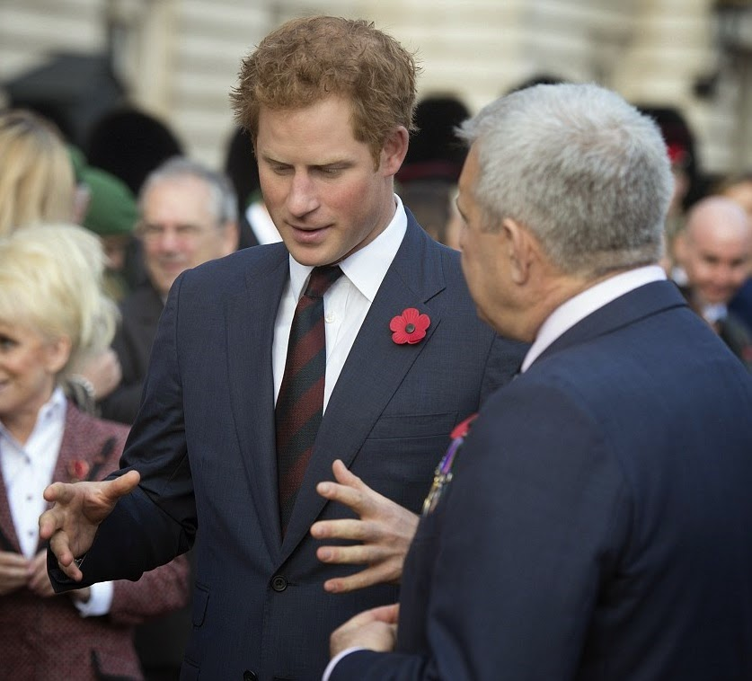Royal Family Around The World: Prince Harry Meets